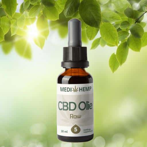 cbd oil raw 30ml 5percent medihemp