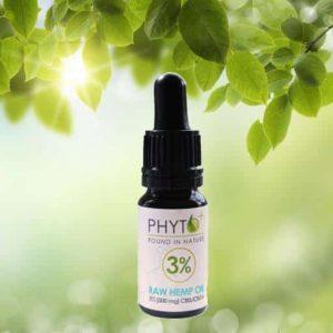 cbd olie 10ml 3procent phytoplus