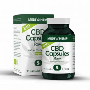 cbd capsules 5 procent medihemp