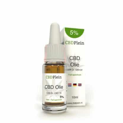 cbd oil 5 percent 10ml cbdplein