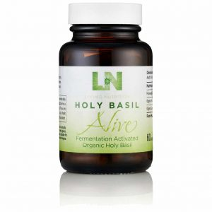 holy basil supplement living nutrition